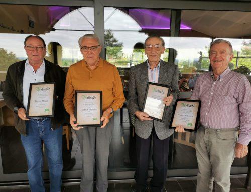 TTC Burrweiler ehrt seine Gründungsmitglieder